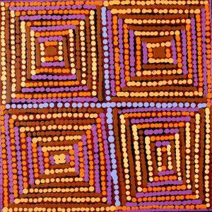 Lukarrara Jukurrpa (Desert Fringe-rush Seed Dreaming)