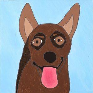 Jarntu Kuju kalu Nyinami Yurntumu-rla (Dogs that live in Yuendumu)