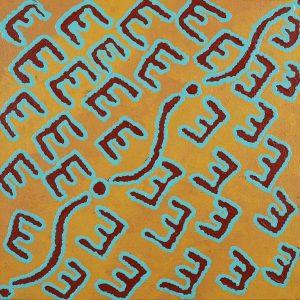 Janganpa Jukurrpa (Bush-tail possum Dreaming) - Mawurrji