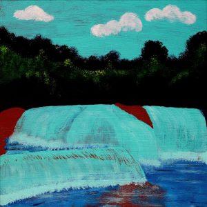 Ngapa Jukurrpa (Water Dreaming) - Puyurru