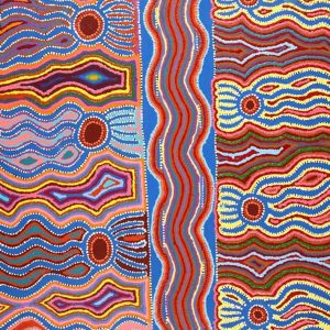 Pirlarla Jukurrpa (Dogwood Tree Bean Dreaming)
