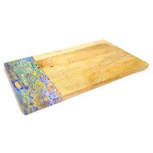 Serving Board - Wood 42.5 x 25cm-JWA628