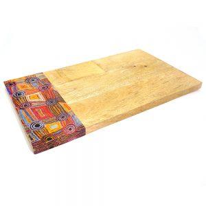Serving Board - Wood 42.5 x 25cm-MAB665