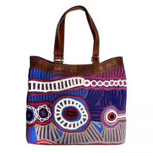 OS Embroidered Hand Bag-MNM649
