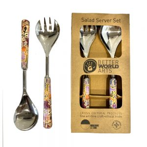Salad Server Set Steel-PST604