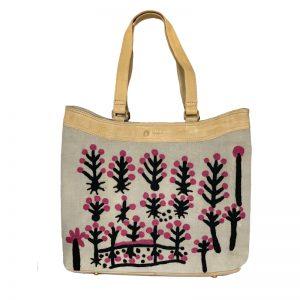 OS Embroidered Hand Bag-RFL637