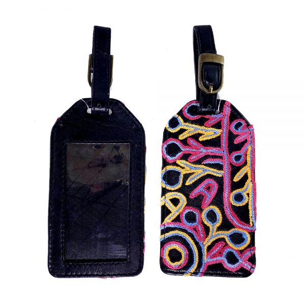 Luggage Tag Embroidered-THU607