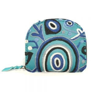 Embroidered Coin Purse-THU608