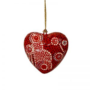 Decorative Heart 7.5 cm -AAD999