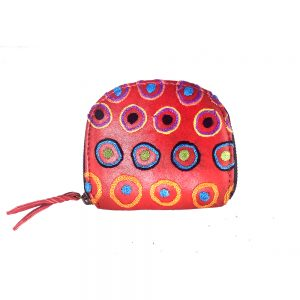 Embroidered Coin Purse-DKU925