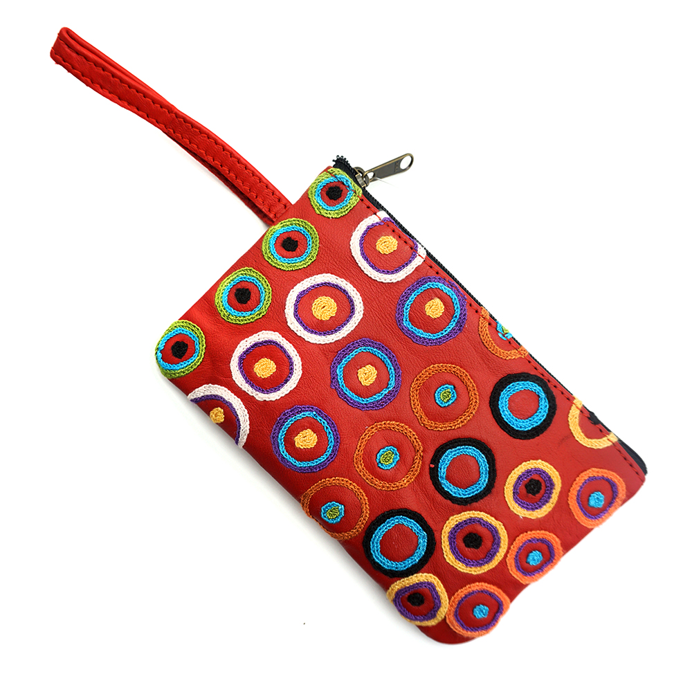 Tiny Comsetic Bag Leather-DKU925