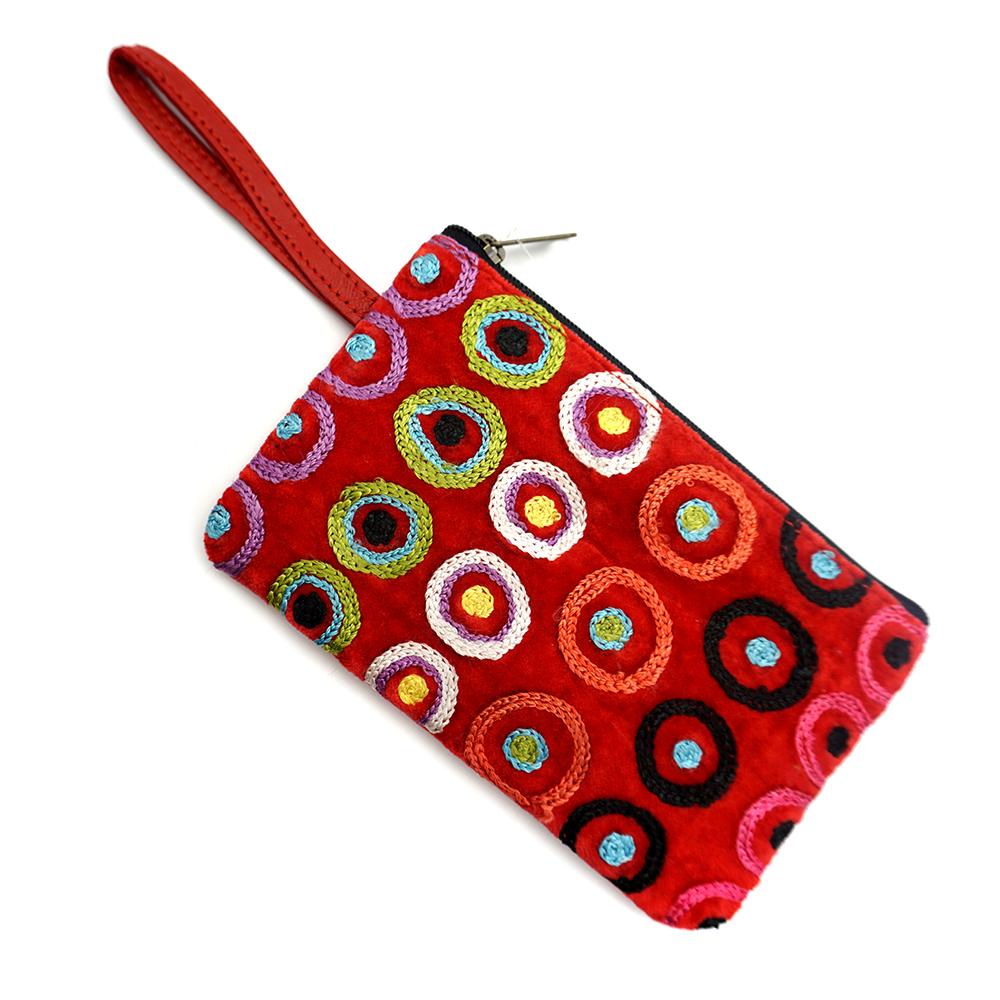 Tiny Cosmetic Bag Velvet-DKU925