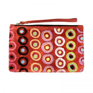 Velvet Clutch with Wrist Strap-DKU925