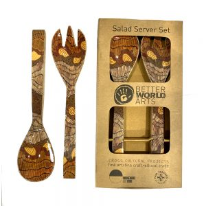 Salad Server Wooden-DYM922