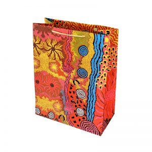 Hand Made Paper Gift Bag Large-DYM975