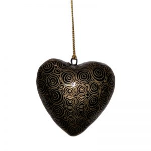 Decorative Heart 7.5 cm -NPG937