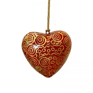 Decorative Heart 7.5 cm -NPR937
