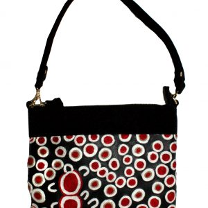 Embroidered Handbag Leather-RSA926