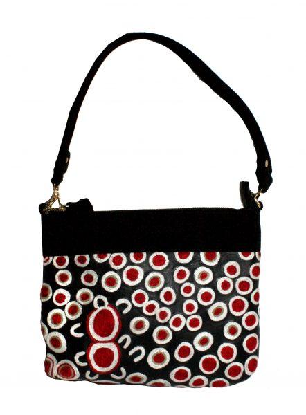Embroidered Handbag Leather-RSA926