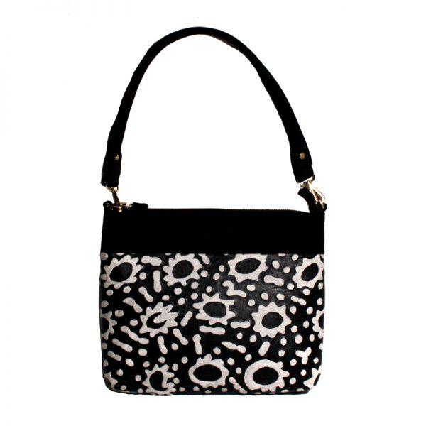 Embroidered Handbag Leather-RSA988