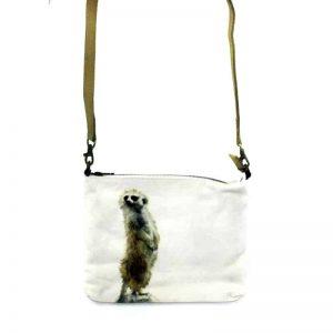 Cross Body Bag- Leather Trimmed-ECOMKA
