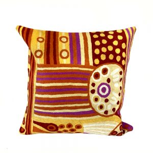 Cushion Cover Wool 16in (40cm)-JWO801