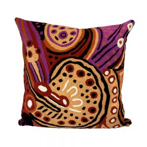 Cushion Cover Wool 16in (40cm)-JWO839