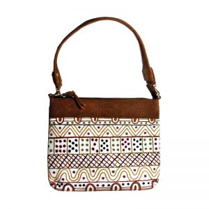 Embroidered Handbag Leather-JPA145