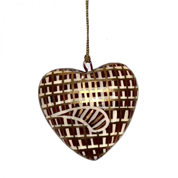 Decorative Heart 7.5 cm -JTI151