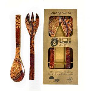 Salad Server Wooden-JWO839
