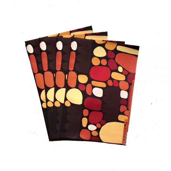 Gift Wrapping Paper 4 individual pieces 50 x 68 cm each-KZI324