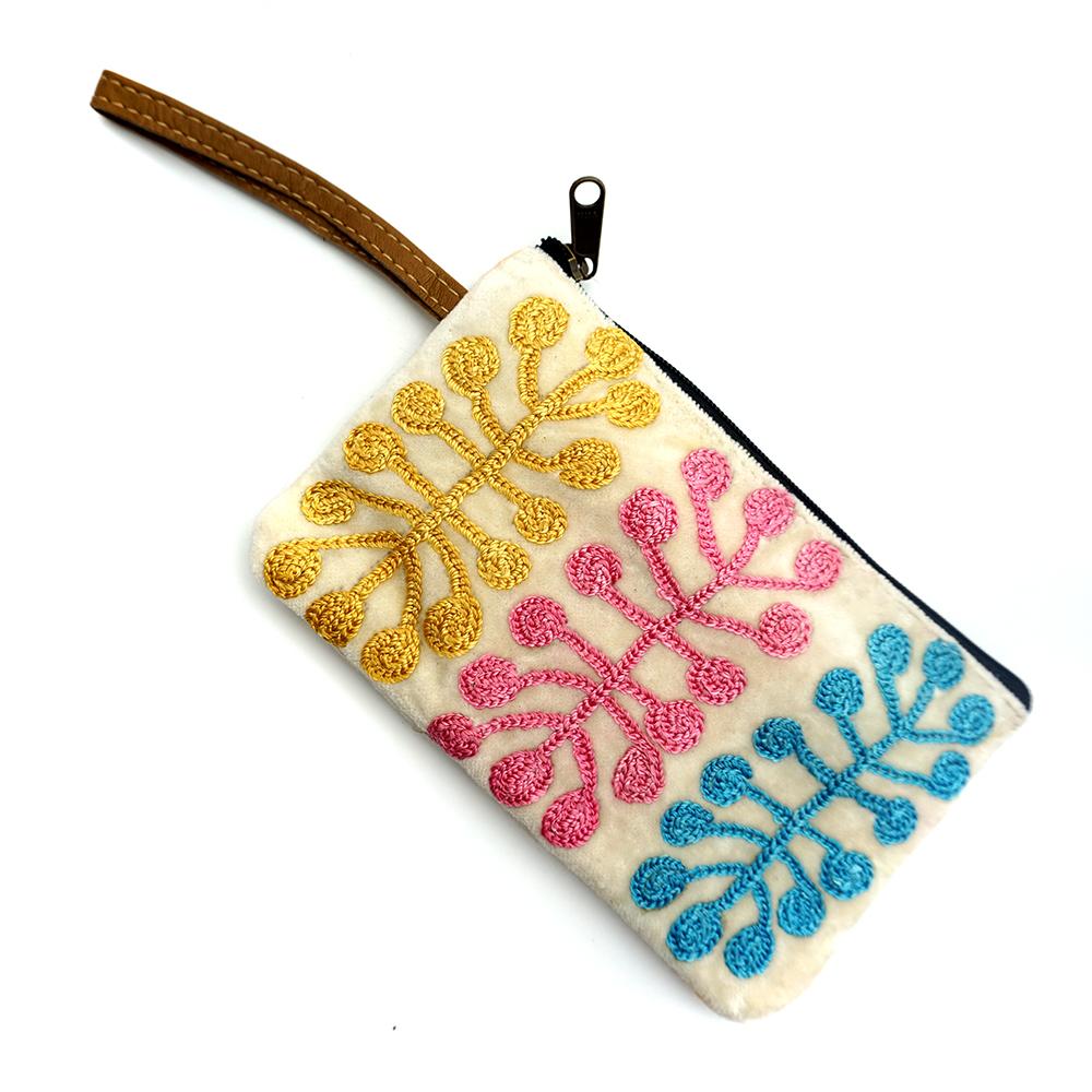 Tiny Cosmetic Bag Velvet-MNA320
