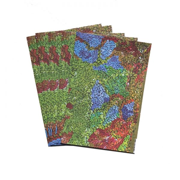 Gift Wrapping Paper 4 individual pieces 50 x 68 cm each-PMU329
