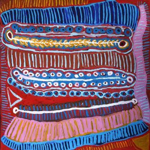 Malikijarra Jukurrpa (Two Dogs Dreaming)