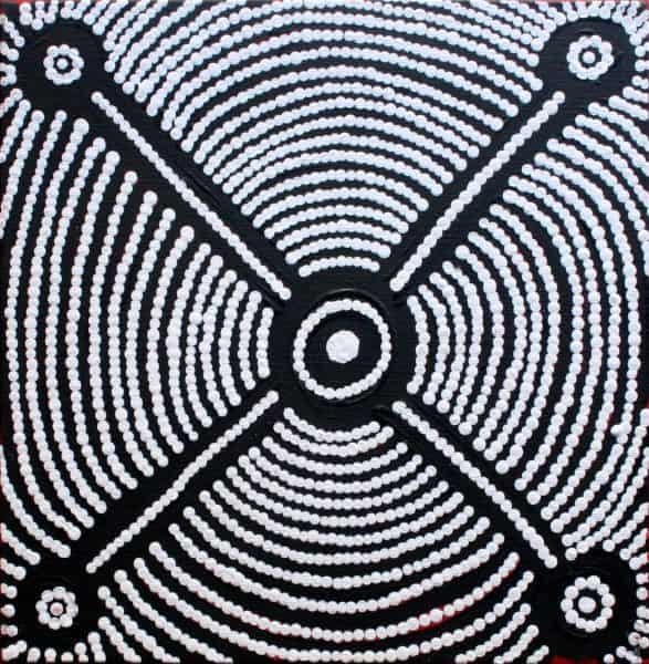 Yurrampi Jukurrpa (Honey Ant Dreaming)