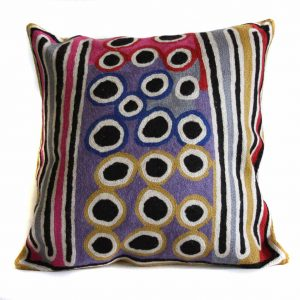 Cushion Cover Wool 12in (30cm)-BLE610