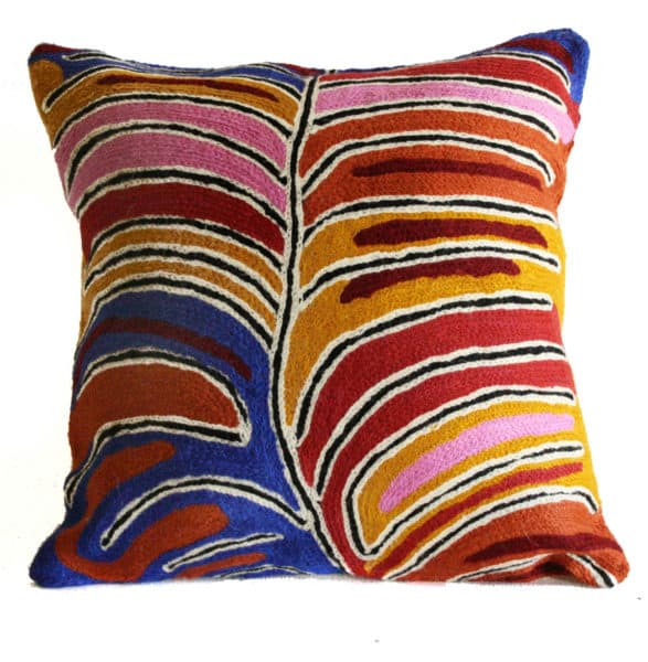 Cushion Cover Wool 12in (30cm)-BLE638