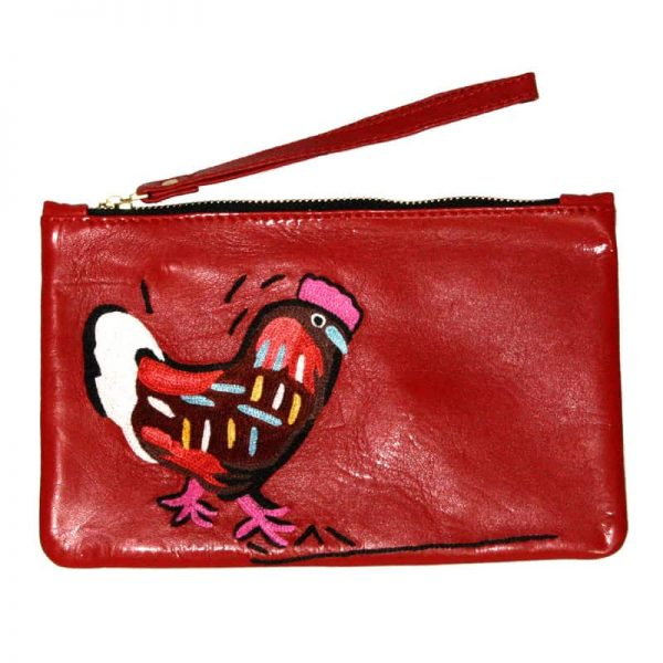 Clutch Bag with Wrist Strap-KBA654