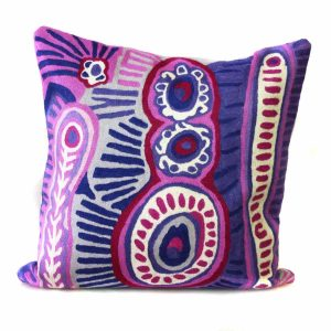 Cushion Cover Wool 12in (30cm)-MNM649