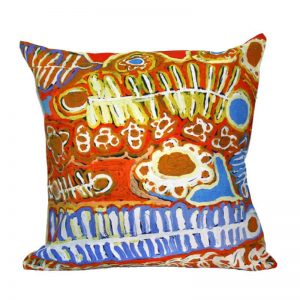 "Canvas Cushion Cover Digital 16""-MNM652"