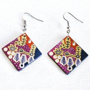 Jewellery Ceramic Earrings-PST604