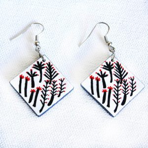 Jewellery Ceramic Earrings-RFL637