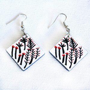 Jewellery Ceramic Earrings-RFL637