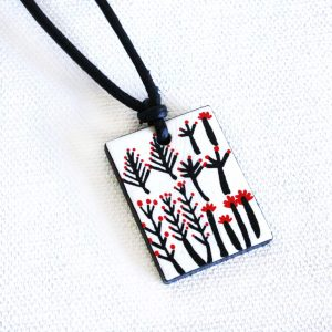 Jewellery Ceramic Pendant-RFL637