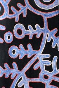 Rug Wool Runner 10 x 2.6 in-THU602