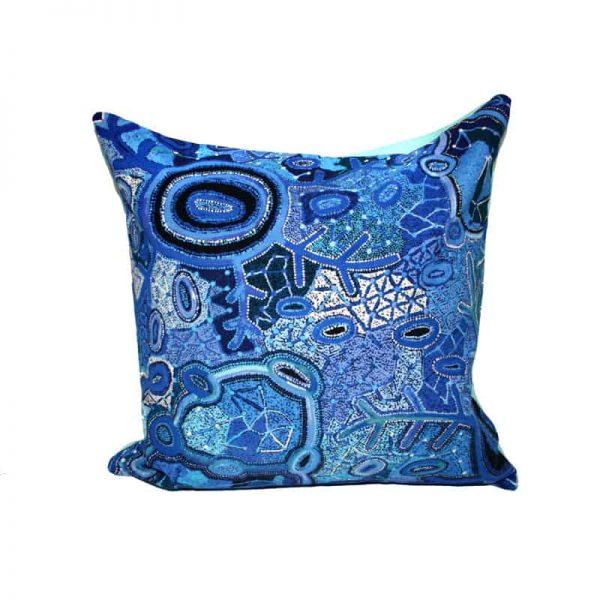 """Canvas Cushion Cover Digital 16""""-THU608"""