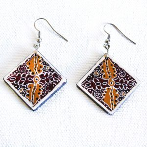 Jewellery Ceramic Earrings-ANK996