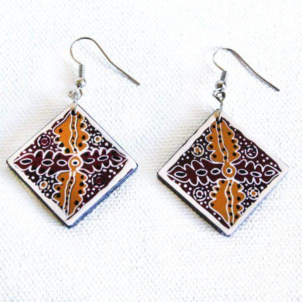 Jewellery Ceramic Earrings-ANK996