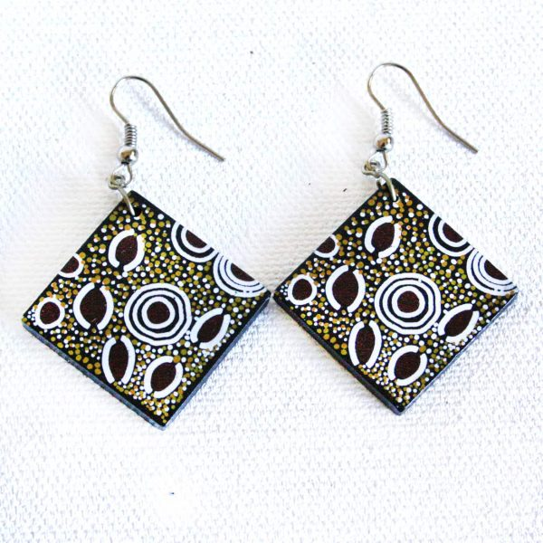 Jewellery Ceramic Earrings-ATJ713