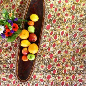 Linen Tablecloth Sq 150 x 150cm-ATJ713